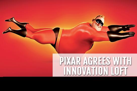 Pixar Agrees with Innovation Loft