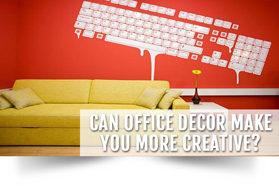 Can Office Decor Make You More Creative?