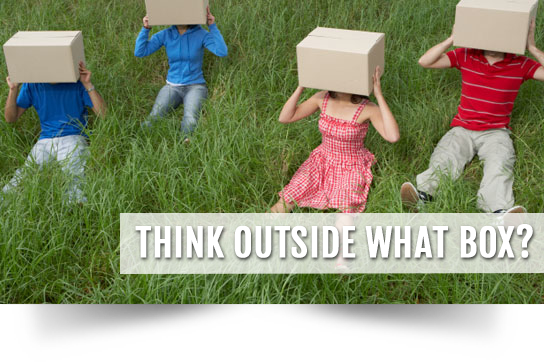Think Outside What Box?