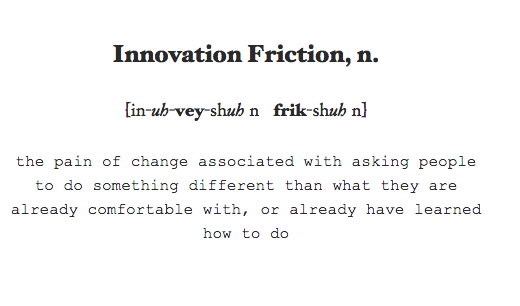 innovation friction definition